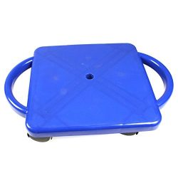 ETA hand2mind Plastic Scooter Board with Handles – Blue