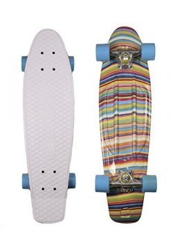 MoBoard Classic 27″ Skateboard   Pro and Beginner   27 inch Vintage Style with Interchange ...