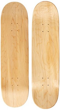 Moose Blank 8.25″ Skateboard Deck (Natural)