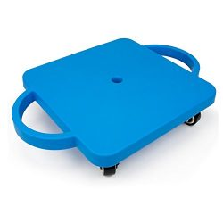 11.5″ Gym Class Super Scooters Sliding Board with Non-Skid Casters and Safety Handles by K ...