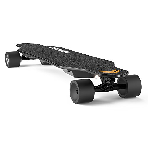 EPIKGO Electric Longboard Skateboard with DualMotor Smart Skateboards [7 Ply Bamboo Board] and
