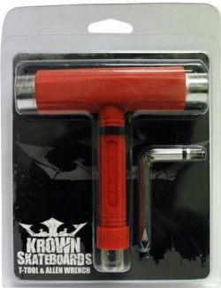 Krown Skateboard Tools, Red