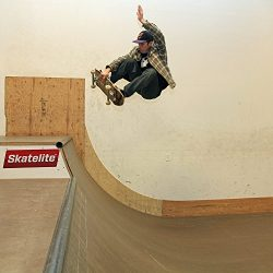 Traceable skateboard ramp plan halfpipe 4 foot tall 16 feet wide with extension
