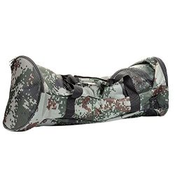Camouflage Self-Balancing Scooter Handbag Durable Oxford Fabric Portable Carrying Bag for 6.5 in ...