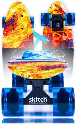 Blue Penny Board Style Skateboards For Kids – Complete Skateboards for Teens and Adults of All A ...