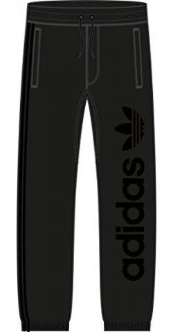 adidas Originals Men's Skateboarding Sweat Pants, Black/Black, S