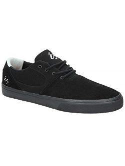 eS Men Accel Sq Black Black Grey Shoes Size 10.5