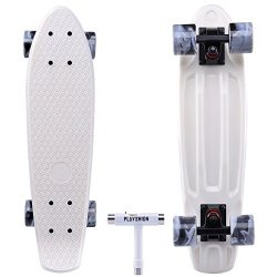 Playshion 22 Inch Beginners Skateboard With Tool For kids age 3-12