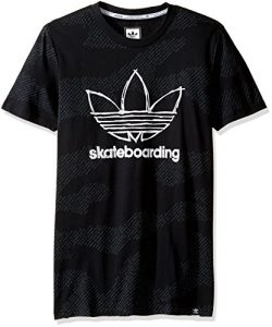 adidas Originals Men's Tops | Skateboarding Blackbird Tee, Skateboard Black/White/Word Cam ...