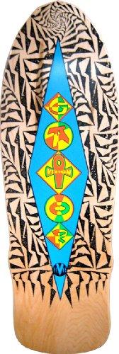 Vision Gator Ramp Reissue Skateboard Deck, Natural, 10 x 31-Inch