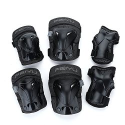 Yahill Multi-Use Safety Protective Gear Child/Teenager/Adult Helmet, or Children/Kids/Adults Kne ...