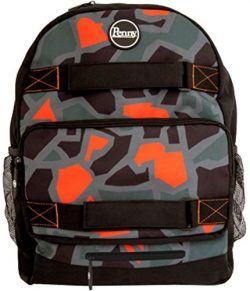Penny Mens Not So Camo Pouch Backpack One Size Multicolored