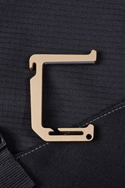 Dango Loop Hook (Champagne Gold) – Heavy Duty Aluminum Multi-Tool for Hanging Accessories