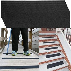 """6 Pack Non-slip 24"""" x 6"""" Step Safety Treads Grip Tape ForSkateboardStrips and Stairs"""