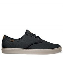 Vans Ludlow Premium Wax Canvas Black Skate Shoe 6.5 D(M) US