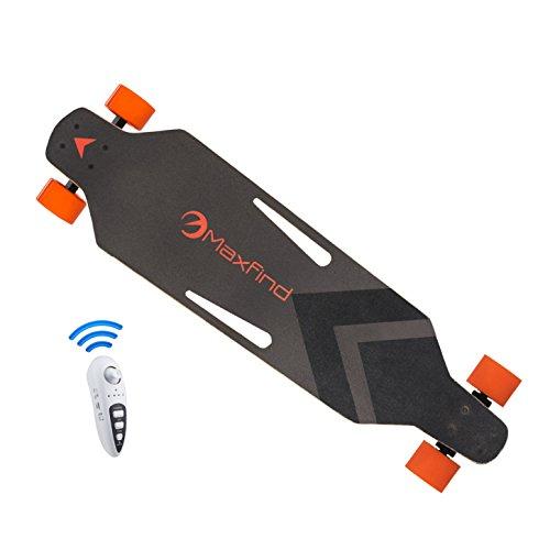 maxfind Electric Skateboard, World\u002639;s Most Portable 1000W Dual Motors Electric Longboard 38 Inch