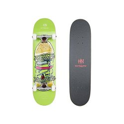 31.5 Inch Complete Standard Skateboard 7 Layer Canadian Maple Wood Double Kick Concave Skateboar ...