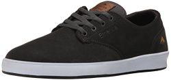 Emerica Men's The Romero Laced Skate Shoe, Dark Grey, 9 Medium US