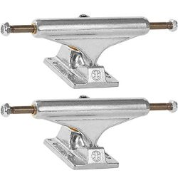 Independent STD Silver Skateboard Trucks – 144mm Hanger 8.25″ Axle (Set of 2)