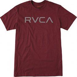 RVCA Men's Big Tee, Tawny Port, Large
