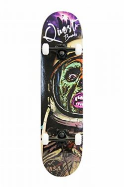 SCSK8 Pro Skateboard / Crusier Pre-Assembled Complete (Astro Zombie)