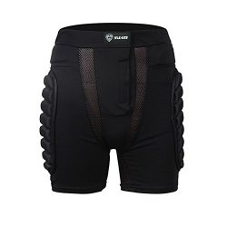 SULAITE 3D EVA SNOW PADDED SHORTS HIP BUTT GEAR PROTECTIVE SHORTS FOR Snow Skiing, Hockey, Skate ...