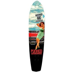 Punked Route 66 Series RTE 66 Longboard Complete Skateboard – available in All shapes (Dec ...