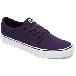 DC Women's Trase TX Skate Shoe, Purple Haze, 8.5 D US
