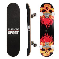 PUENTE Pro Cruiser Complete Skateboard 31 Inch