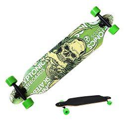 Ancheer Complete Downhill Longboard Dancing Road Skateboard High Speed Board
