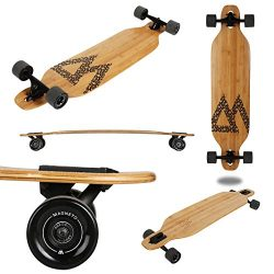 Magneto Longboard – Bamboo Drop Through Carving Longboard Skateboard