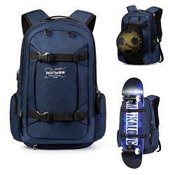 Skateboard Backpack Basketball Baseball Football Rugby Ball Soccer Ball Multi-function Water Res ...