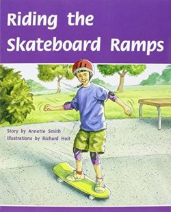 Rigby PM Plus: Individual Student Edition Silver (Levels 23-24) Riding the Skateboard Ramps