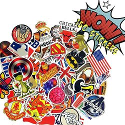 Premium Pack & Only Bag of 100+50 Bonus Pokemon & Vinyl Graffiti Decal Logo Stickers-Per ...