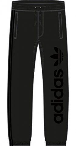 adidas Originals Men's Skateboarding Sweat Pants, Black/Black, L