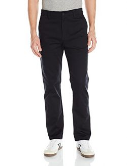 adidas Originals Men's Adidas Skateboarding Chino Pants, Black, 32 X 32