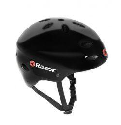 Razor V-17 Youth Multi-Sport Helmet, Gloss Black