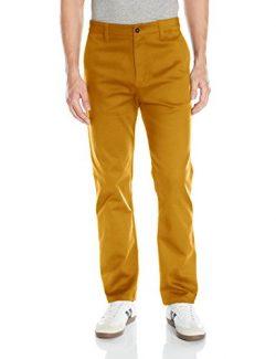 adidas Originals Men's Adidas Skateboarding Chino Pants, Mesa, 34W x 32L