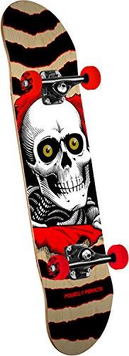 Powell-Peralta Ripper One Off (New) Standard Skateboard, Gold/Black