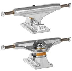 Independent 139 Stage 11 Standard Silver Skateboard Trucks 8.0″ Axle (Set of 2)
