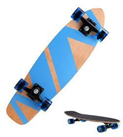 Anfan Longboard Downhill Division 27″ Cruiser Style Longboard Complete Skateboard For Kids ...