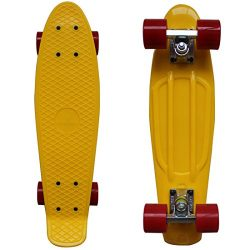 Rimable Complete 22″ Skateboard YellowRed