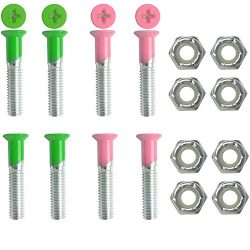 Dimebag Hardware Skateboard Mounting Nuts and Bolts 1″ Phillips – Skateboard Truck H ...