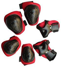 7buy One Set 6 PCS Children Kids Skateboard Roller Blading Elbow Knee Wrist Protective Gear Pads ...
