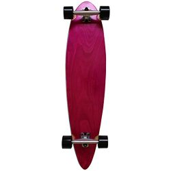 Rimable Stained Pintail Longboard PINKBLACK