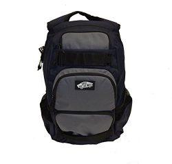 Vans Men's Backpack Skate Bag Treflip Navy Black Grey VN-0OKI9A0 School Bag