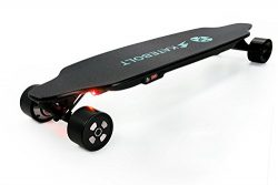 SKATEBOLT Electric Skateboard,Max Range 15 Miles,Top Speed 25 MPH,Dual Motor 1000W,9 Layers Mapl ...