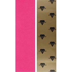 Black Diamond Longboard Skateboard Grip Tape Sheet (pink)