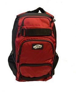 Vans Men's Backpack Skate Bag Treflip Burgundy Black School Bag