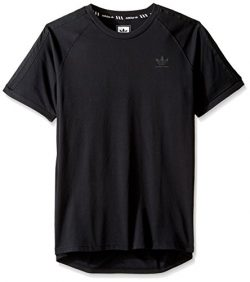 adidas Originals Men's Tops Skateboarding California Tee, Black, Medium
